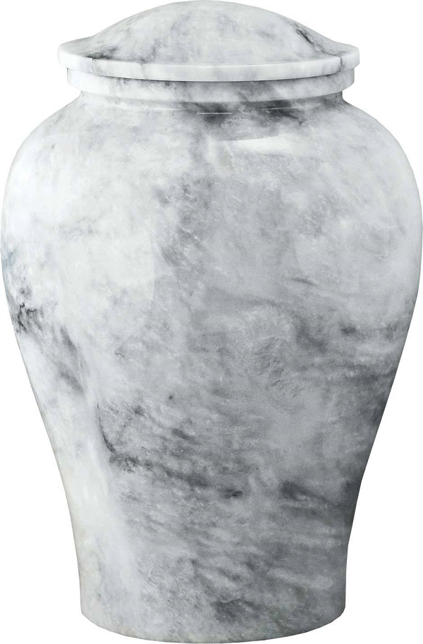 white marble upright